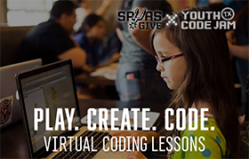 Coding with the Spurs Live: Code the Basketball