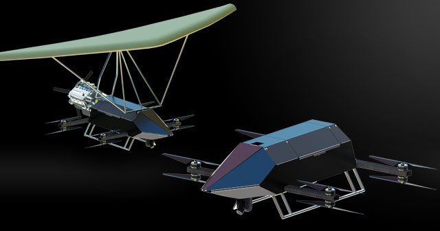AVA Propulsion Builds Large-Scale Drones for Delivery