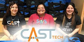 Students, Teachers Help Create User Experience Course at CAST Tech