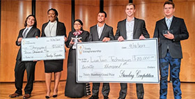 $25K awarded to student startups at Trinity University event