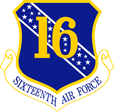 16th US Air Force cyber command