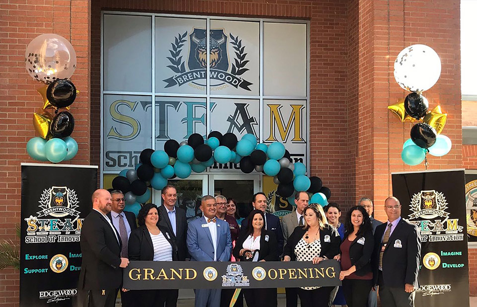 Brentwood Middle School STEAM School of Innovation in San Antonio