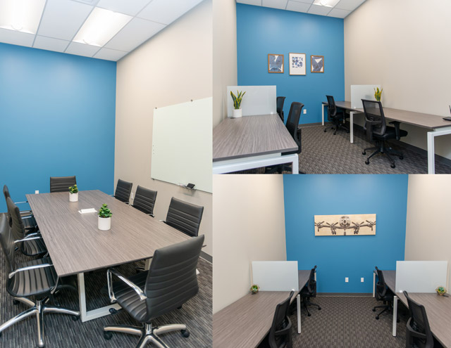 meeting rooms at the IPSecure Training Center at Port San Antonio