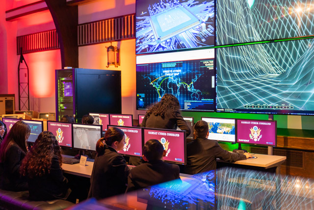 Museum of Science and Technology exhibits cybersecurity