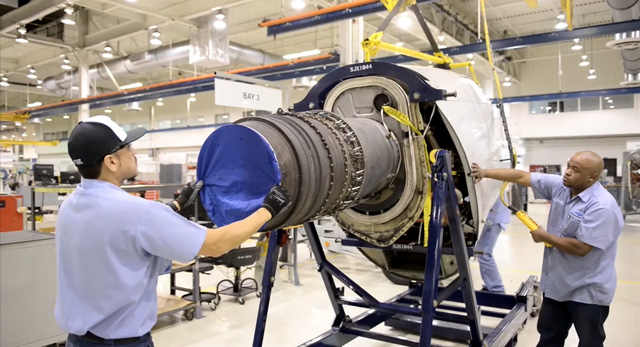 F110 engines are one of many engines that StandardAero supports.