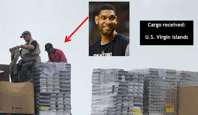 Tim Duncan, former Spurs star, supporting relief effort to US Virgin Islands