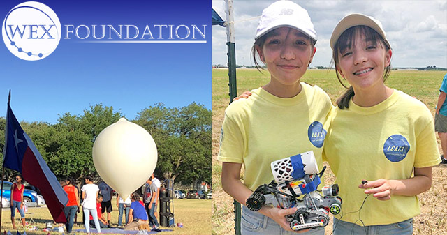 WEX FOUNDATION: weather balloons, rocket launches, NASA