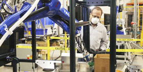 Robot makers find opening in pandemic