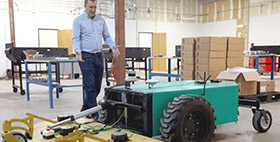 Robotic Maintenance Tractor Maker Opens Office in San Antonio