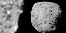 SwRI-led study indicates sand-sized meteoroids are peppering asteroid Bennu
