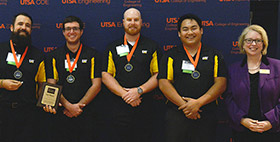 Infrared paint-curing system takes top prize at Student Tech Symposium